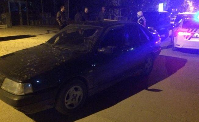 """Elbistan'da """"drift"""" yapan sürücüye 5 bin 245 lira para cezası"""