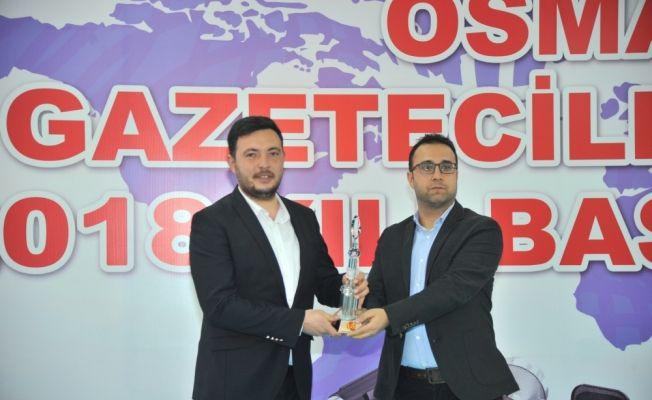 OGC'den AA'ya iki ödül