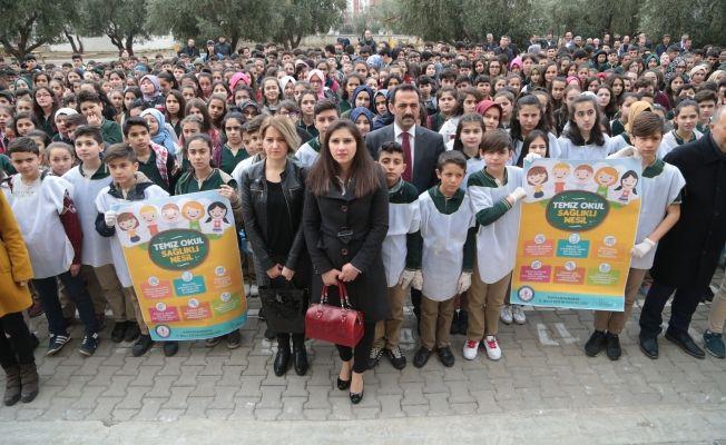 """""""Temiz Okul, Sağlıklı Nesil"""" projesi başlatıldı"""