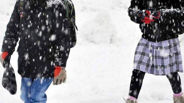 Elbistan'da iki mahallede eğitime kar engeli