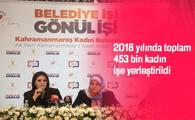 Sarıeroğlu, partisinin kadınlara yönelik yaptığı çalışmaları anlattı