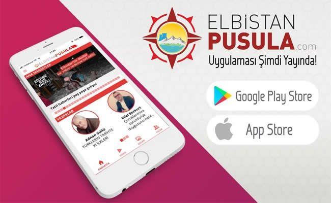 Elbistan Pusula App Store ve Google Play'de!