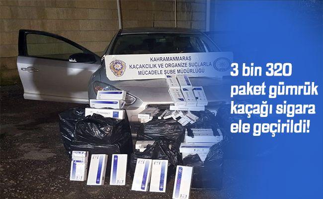 Kahramanmaraş polisi kaçakçıları affetmedi