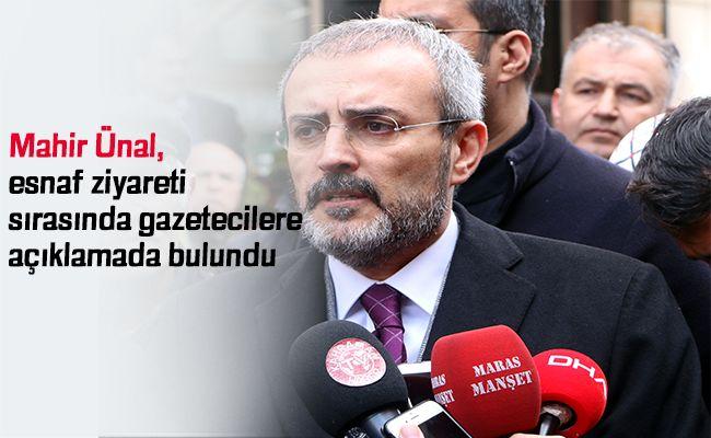 """Ünal: """"CHP seçimden sonra kaç parçaya bölüneceğini konuşmalı"""""""