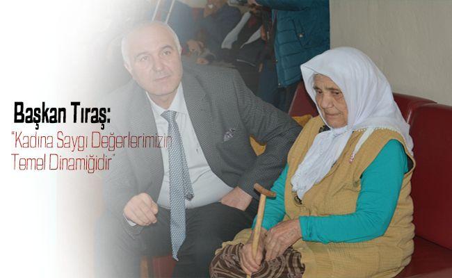 Başkan Tıraş'tan 'Kadınlar Günü' Mesajı