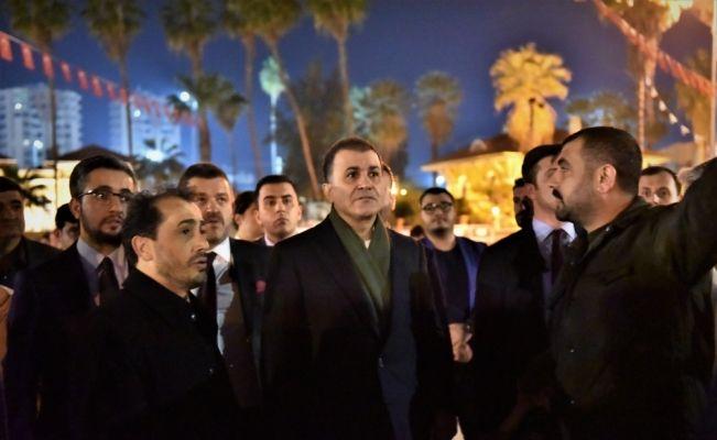 AK Parti Sözcüsü Ömer Çelik Adana'da