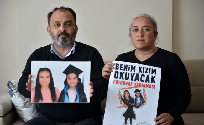 Trafik kazasında 2 kızlarını kaybeden ailenin acısı dinmiyor