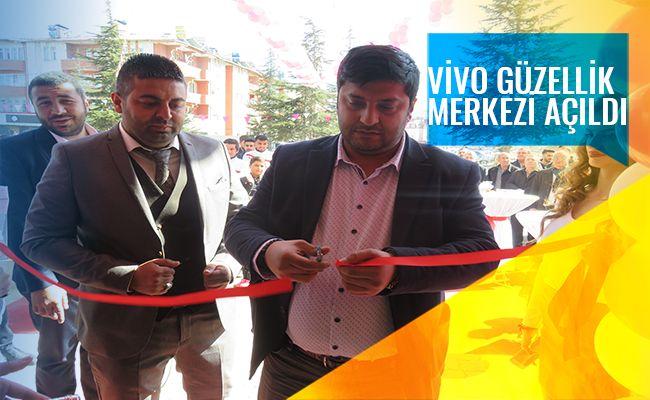 Vivo Güzellik Merkezi Elbistan'da hizmete başladı