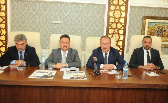 MHP İl Başkanı Doğan, bizim adayımız Mehmet Gürbüz'dür