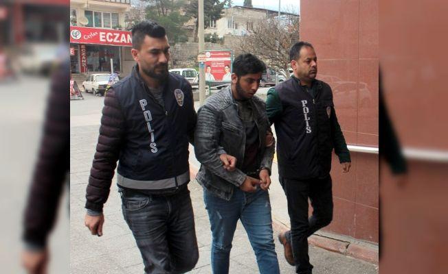 Kahramanmaraş'ta çaldığı televizyonu izlerken yakalandı