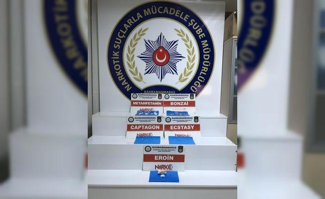 Kahramanmaraş'ta sentetik uyuşturucu ve eroin ele geçirildi