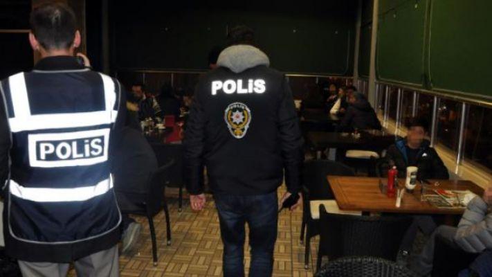 Kahramanmaraş'ta huzur uygulaması: 93 şahıs yakalandı