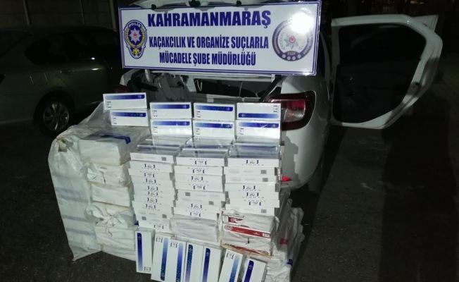 Kaçak sigara operasyonu: 3 bin 850 paket sigara ele geçirildi