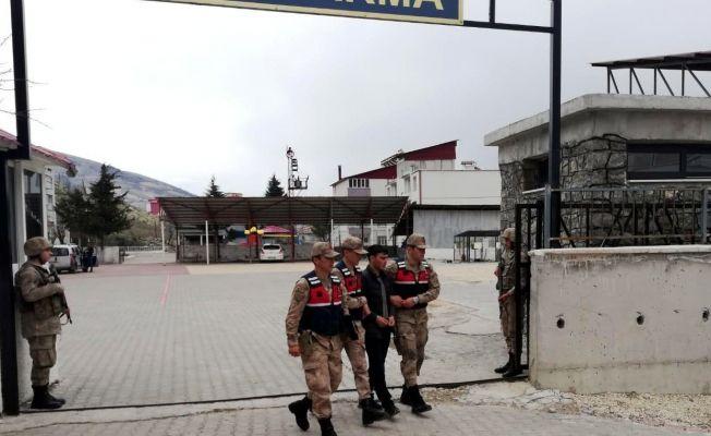 PKK'ya silah sağlayan hain bugün Kahramanmaraş'ta yakalandı!