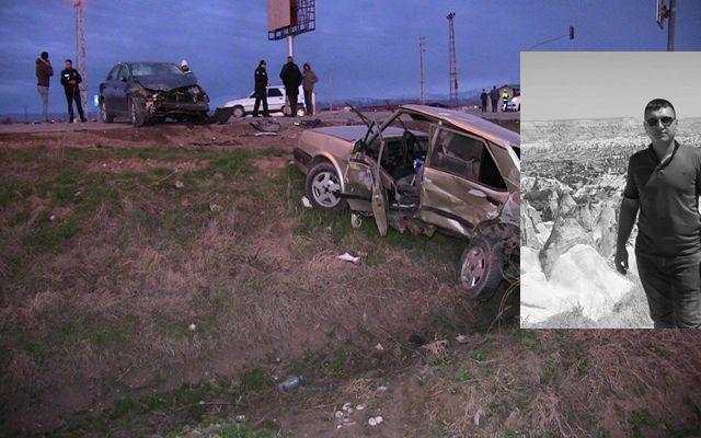 Trafik kazasında ağır yaralanan genç hayatını kaybetti