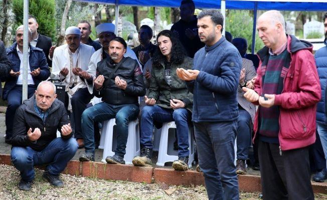 Murat Kekilli'nin babası son yolculuğuna uğurlandı