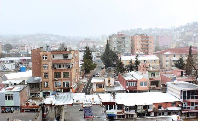 Mersin'de kar yağışı