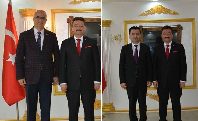 Başkan Gürbüz'e tebrik ziyaretleri devam ediyor