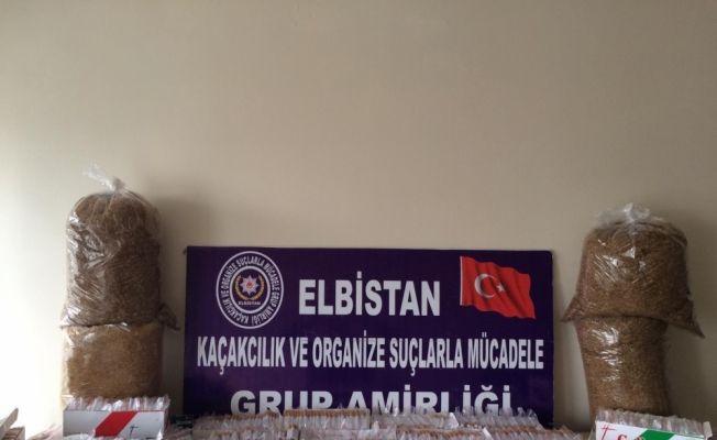 Kahramanmaraş'ta kaçak hap operasyonu