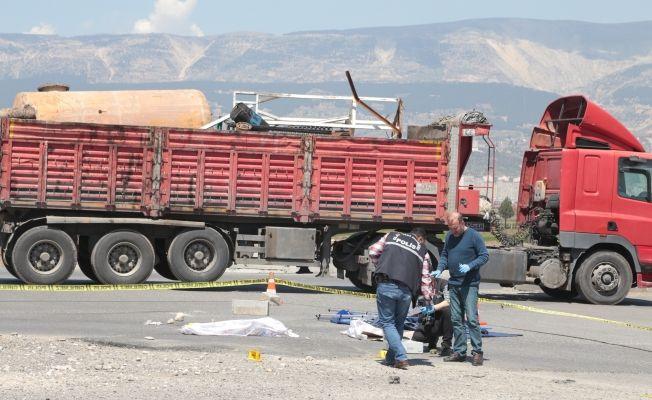 Kahramanmaraş'ta 'İnsanlık ölmüş' dedirten kaza