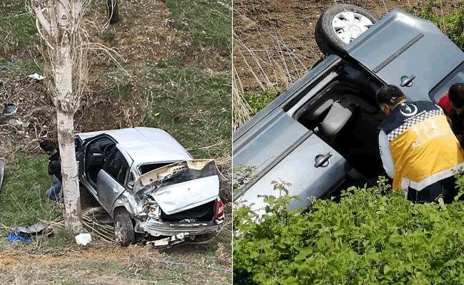 Kahramanmaraş'ta iki ayrı kaza, 5 kişi yaralandı