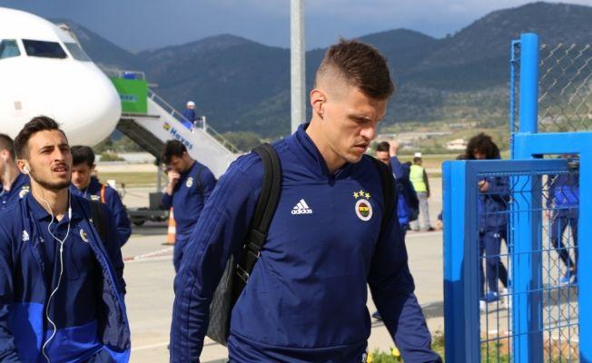 Fenerbahçe kafilesi, Gazipaşa'ya geldi