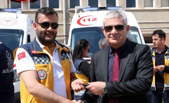 Kahramanmaraş'a 7 yeni ambulans