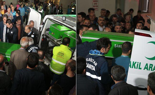 Kazada hayatını kaybedenlerin cenazesi Elbistan'a getirildi