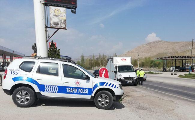 Elbistan'da 1 Mayıs'ta polisten huzur kontrolü