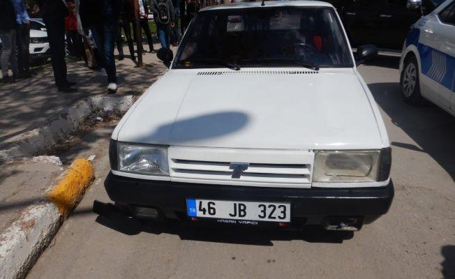 Elbistan'da ehliyetsiz sürücüye 5 bin 381 lira ceza