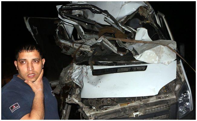 Zıhlı para nakil aracı kaza yaptı: 1 ölü, 1 yaralı