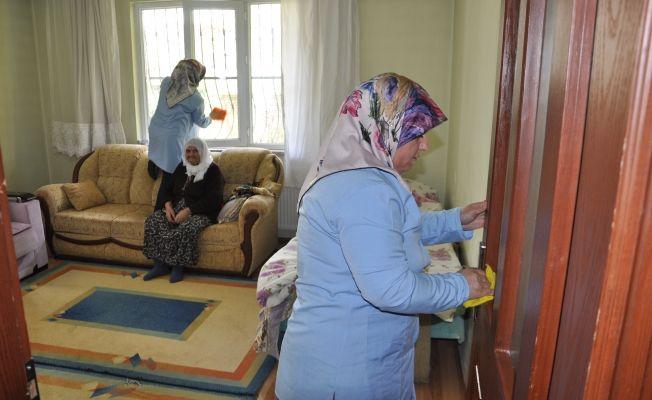 Whatsapp ihbarıyla evleri ücretsiz temizleniyor
