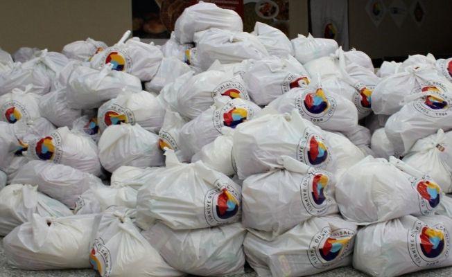 ETSO, 714 aileye Ramazan paketi dağıttı