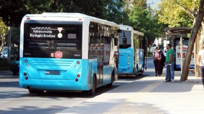 Elbistan'da bayram boyunca belediye otobüsleri ücretsiz