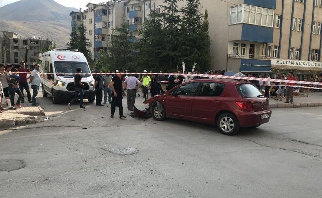 Elbistan'da korkutan trafik kazası: 1 yaralı