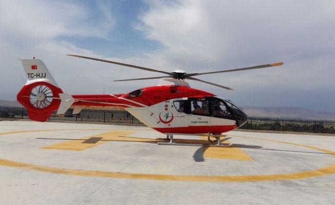 Nurhak Dağı'nda yaralanan öğretmen helikopter ile kurtarıldı