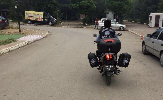 Elbistan'da motorize zabıta ekipleri tarafından pınarbaşı denetimi yapıldı