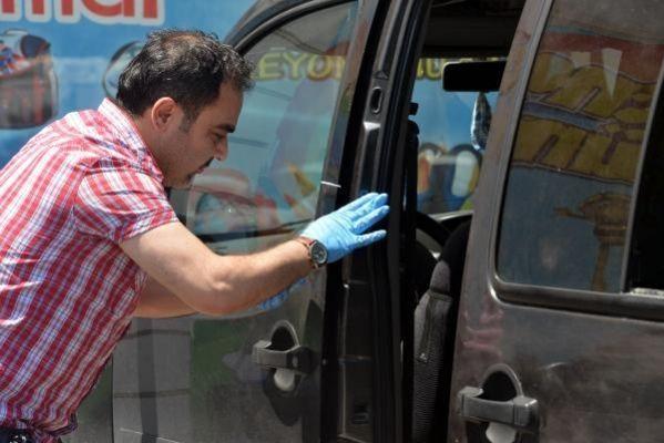 Elbistanlı vatandaşın araçtan parasını çalan hırsızlar polisle çatıştı
