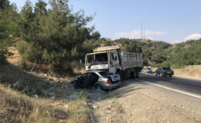 Göksun-Kahramanmaraş kara yolunda trafik kazası: 1 ölü