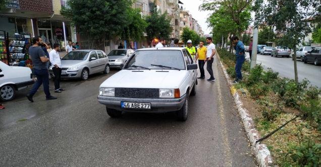 Elbistan'da otomobilin çarptığı yaşlı kadın öldü