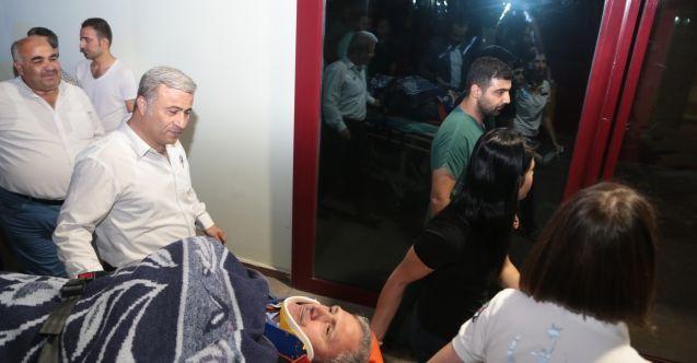 Berit Dağı'nda yaralanan belediye çalışanı kurtarıldı