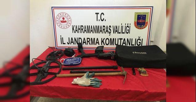 Kaçak kazı yapanlara operasyon: 5 kişi gözaltına alındı