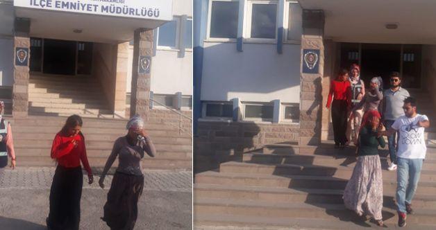 """Elbistan'da """"bohçacı"""" olarak girdikleri evlerden hırsızlık yaptılar: 3 gözaltı"""