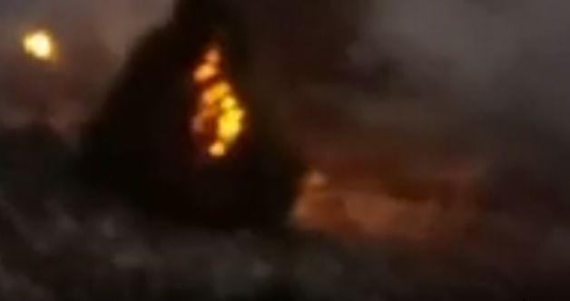 Nurhak'ta büyük orman yangını! Sosyal medyadan vatandaştan yardım istendi...
