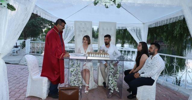 Elbistan Belediyesi'nden özel nikah hizmeti