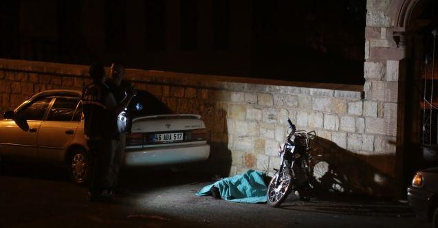 Kahramanmaraş'ta motorsiklet kazası: 1 kişi hayatını kaybetti