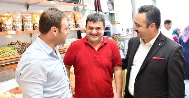 """Elbistan'da """"Kaldırımlar Yayaların Olsun"""" projesine büyük destek!"""
