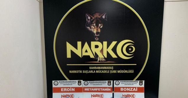 """Kahramanmaraş'ta """"torbacı"""" operasyonu: 2 gözaltı"""