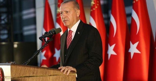 """Cumhurbaşkanı Erdoğan: """"Kimsenin tek karış toprağında gözümüz yok"""""""