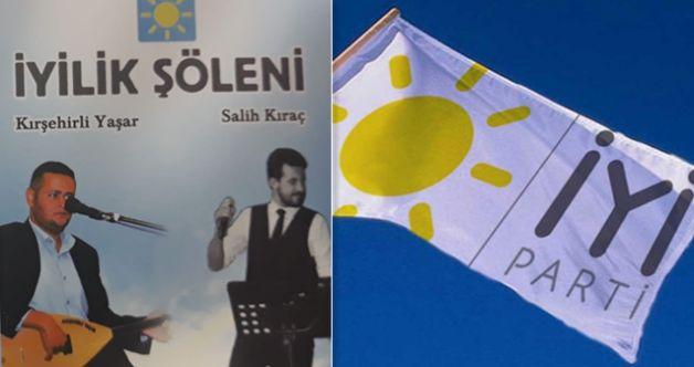 İYİ Parti'den 'İyilik Şöleni' programına davet